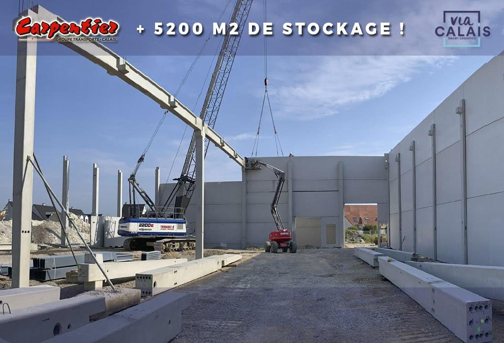 Le nouvel entrepôt logistique du Groupe Carpentier