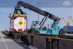 Port de Boulogne-Calais équipé d'un terminal de ferroutage