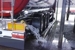 Lavage et désinfection de citerne alimentaire à Calais