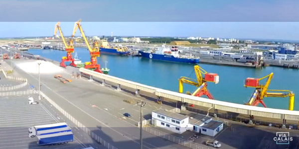 Manutention portuaire Boulogne-Calais